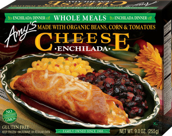 Amy's Kitchen, Amy's Kitchen Cheese Enchilada , 9.0 oz. Entree (1 Count)