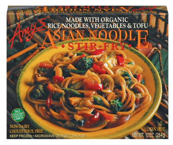Amy's Kitchen, Asian Noodle Stir-Fry, 10.0 oz. Entree (1 Count)