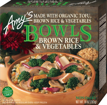 Amy's Kitchen, Brown Rice & Vegtables Bowl, 10.0 oz. Entree (1 Count)
