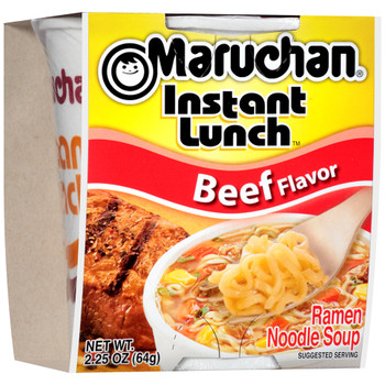 Maruchan, Instant Lunch, Beef, 2.25 oz. Cup (1 Count)