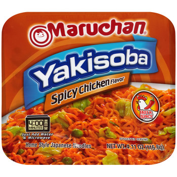 Maruchan, Yakisoba Home-Style Japanese Noodles, Spicy Chicken 4.11 oz. (1 Count)