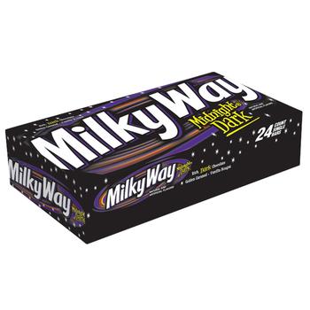 Milky Way, Midnight Dark Chocolate, 1.74 oz. Bars (24 Count)