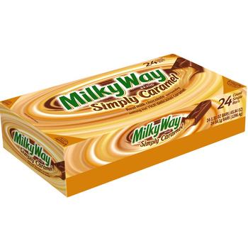 Milky Way, Simply Caramel, 1.91 oz. Bars (24 Count)