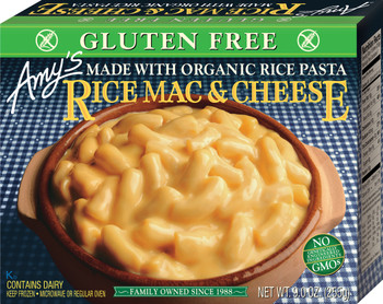 Amy's Kitchen, Rice Macaroni & Cheese, 9.0 oz. Entree (1 Count)