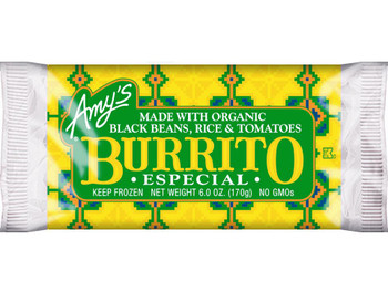 Amy's Vegetarian, Especial Burrito, 6 oz. (1 Count)