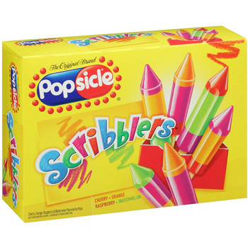Popsicle, Scribblers Popsicle, 2.4 oz. (24 Count)