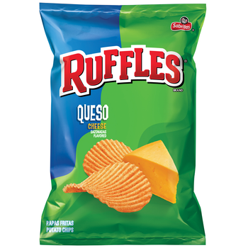 Ruffles Brand, Queso Cheese, 1.5 oz. Bag (1 Count)