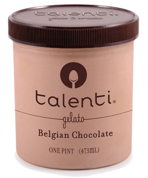 Talenti, Belgium Milk Chocolate, Gelato, Pint (1 Count)