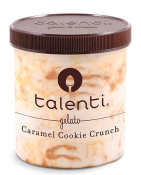 Talenti, Caramel Cookie Crunch, Gelato, Pint (1 Count)