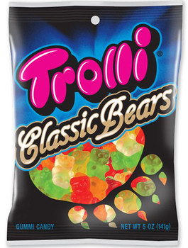 Trolli, Classic Bears, 5.0 oz. Peg Bag (1 Count)