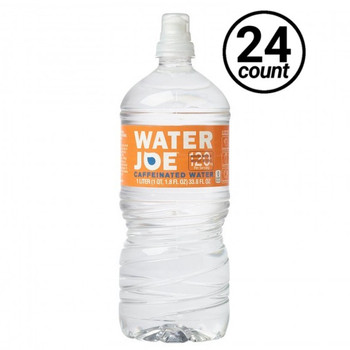 Water Joe, Artesian Water with Natural Caffeine, 1 L. PET Bottle (24 Count)