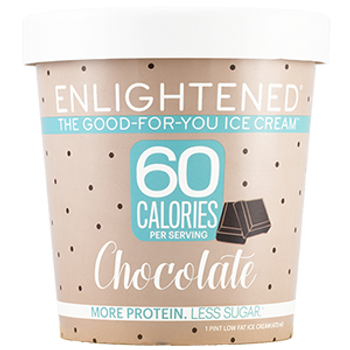 Enlightened, Chocolate Ice Cream, Pint (1 Count)