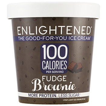 Enlightened, Fudge Brownie Ice Cream, Pint (1 Count)
