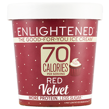 Enlightened, Red Velvet Ice Cream, Pint (1 Count)