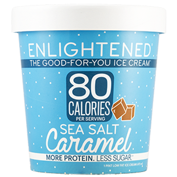Enlightened, Sea Salt Caramel Ice Cream, Pint (1 Count)