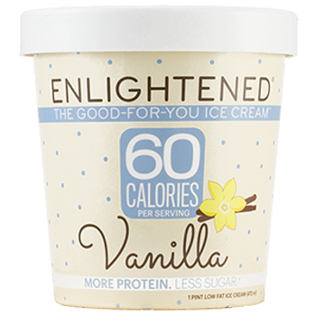 Enlightened, Vanilla, Pint (1 Count)