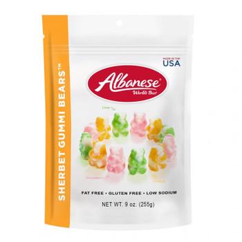 Albanese, Sherbet Gummi Bears, 9.0 oz. (1 Count)