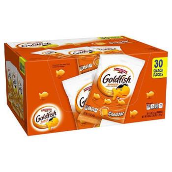 Goldfish, Cheddar Cheese, 1.50 oz. Bag (30 Count)