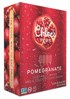 Chloe's Pops, Pomegranate, 2.5 oz. (4 Count)
