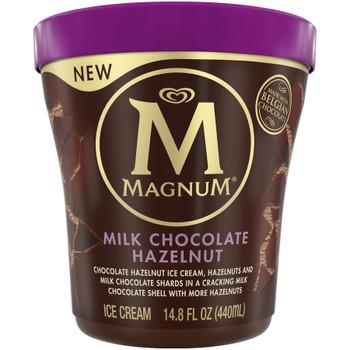 Magnum Milk Chocolate Hazelnut Ice Cream, 14.8 Oz Pint (1 Count)