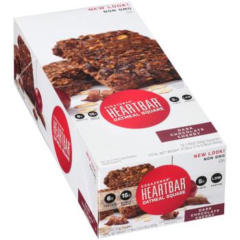Corazonas, Oatmeal Square, Dark Chocolate Cherry, 1.76 oz. bar (12 Count Case)