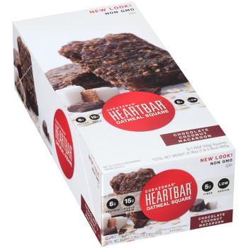 Corazonas, Oatmeal Square, Chocolate Coconut Macaroon, 1.76 oz. bar (12 Count Case)