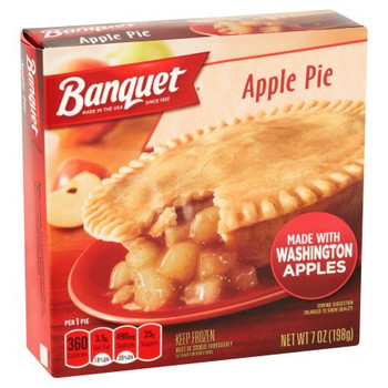 Banquet, Apple Pie, 7.0 oz. Microwavable Pie (1 Count)