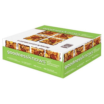 Goodness Knows, Apple, Almond, Peanut & Dark Chocolate, 1.2 Oz Bars (12 Count)
