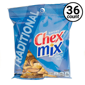 Chex Mix, Traditional, 1.75 oz. Bag (36 Count)