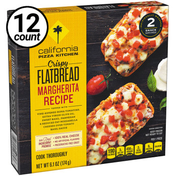 California Pizza Kitchen, Margherita, Crispy Flatbread, 6.1 oz. (12 Count)