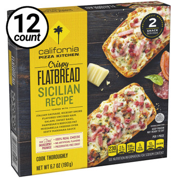 California Pizza Kitchen, Sicilian, Crispy Flatbread, 6.7 oz. (12 Count)