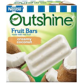 Outshine, Creamy Coconut Frozen Fruit Bar, 4 oz (24 count)