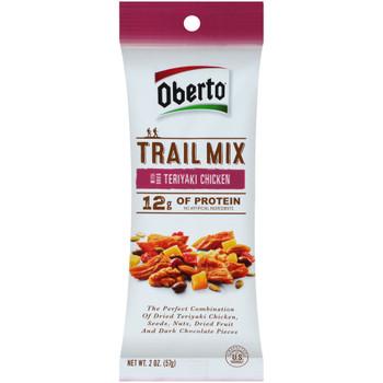 Oberto Teriyaki Chicken Trail Mix, 2 oz. (1 count)