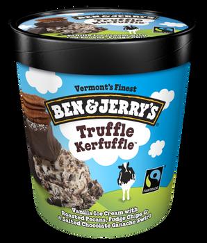 Ben & Jerry's, Truffle Kefuffle Ice Cream, Pint (1 Count)