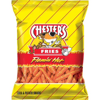Chester's Fries Flamin' Hot, 1.75 oz. bag (1 count)