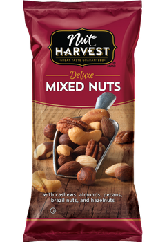 Nut Harvest Deluxe Mixed Nuts, 2.75 Oz Bag (1 Count)