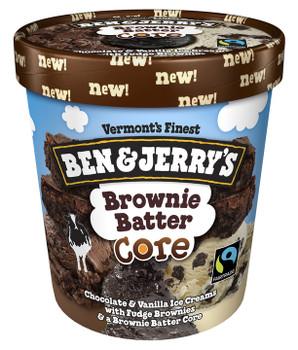 Ben & Jerry's, Brownie Batter Core, Pint (1 Count)