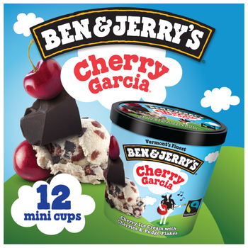 Ben & Jerry's, Cherry Garcia Cups (12 Count)