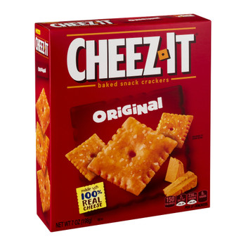 Cheez-It, Cheese Crackers, Original, 7.0 oz Box (1 Count)