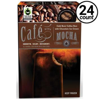 Cold Brew Coffee Ice Cream Bar, Mocha, 3 Oz Bar (24 Count)