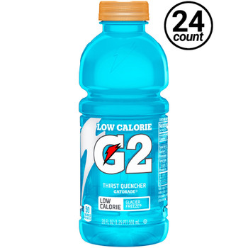 Gatorade, G2 Glacier Freeze, 20.0 oz. Bottle (24 Count)