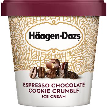 Häagen-Dazs Espresso Chocolate Cookie Crumble, 14 Oz Pint (1 Count)