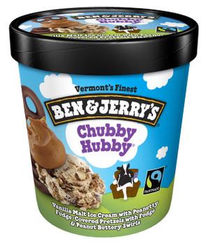 Ben & Jerry's, Chubby Hubby Ice Cream, Pint (1 Count)