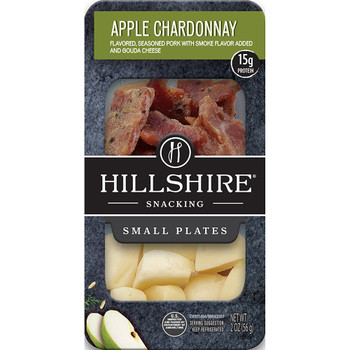 Hillshire Snacking Plates, Apple Chardonnay Pork, 2.76 oz. (1 count)