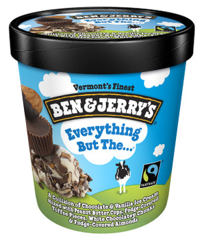 Ben & Jerry's, Everything But The....Ice Cream, Pint (1 Count)