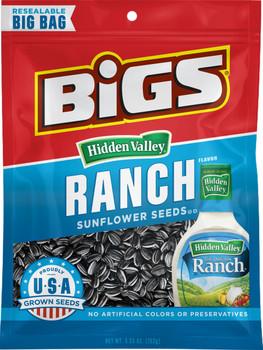 BIGS, Hidden Valley Ranch Sunflower Seeds, 5.35 oz. Bag (1 Count)