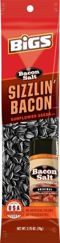BIGS, Sunflower Seeds, JD's Bacon Salt Sizzlin' Bacon SLAMMER, 2.75 oz. (1 Count)