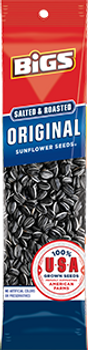 BIGS, Sunflower Seeds, Salted and Roasted Original SLAMMER, 2.75 oz. (1 Count)