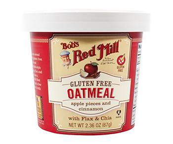 Bob's Red Mill, Apple Cinnamon Oatmeal, 2.36 oz. Cup (1 Count)