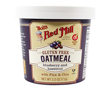 Bob's Red Mill, Blueberry Hazelnut Oatmeal, 2.50 oz. Cup (1 Count)